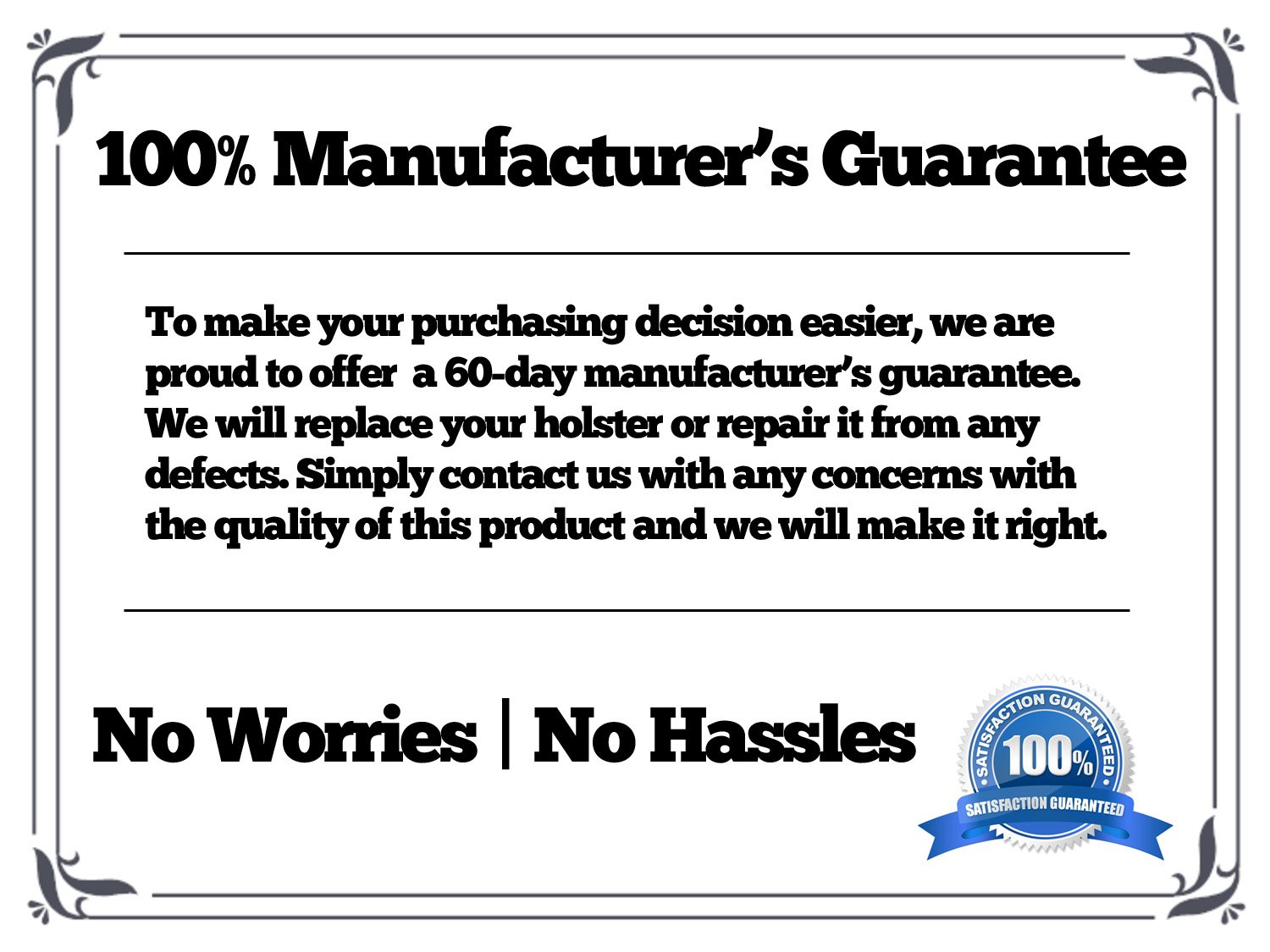 Manufacturer's Guarantee